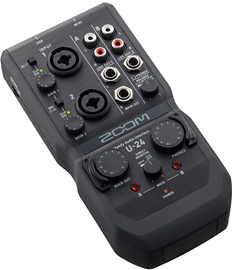 Zoom U-24 audio interfejs