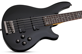 SGR by Schecter C-5 Gloss Black bas gitara