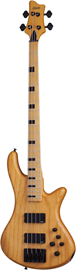 Schecter Stiletto-4 Session Aged Natural Satin b...