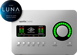 Universal Audio Apollo Solo TB3 audio sučelje