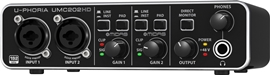 Behringer UMC202HD U-Phoria audio interfejs