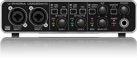 Behringer UMC204HD U-Phoria audio interfejs