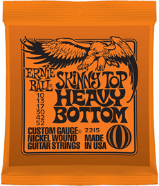 Ernie Ball 2215 Nickel Skinny Top/Heavy Bottom ž...