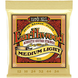Ernie Ball 2003 Earthwood 80/20 Bronze Medium Li...