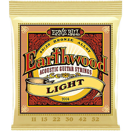 Ernie Ball 2004 Earthwood 80/20 Bronze Light žic...