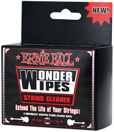 Ernie Ball 4277 Wonder Wipes String Cleaner krpi...