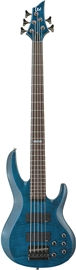 ESP LTD B-155DX See-Thru Blue bas gitara