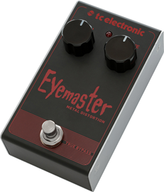 tc electronic Eyemaster Metal Distortion pedala
