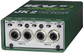 KV2 Audio JK2 stereo direct box