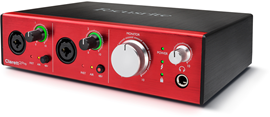 focusrite-Clarett2Pre_Left-3quart-elevated