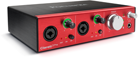 focusrite-Clarett2Pre_Right-3quart-elevated