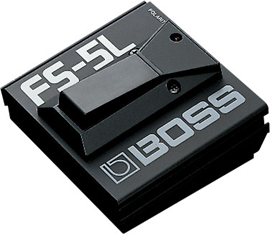 Boss FS-5L Black footswitch prekidač