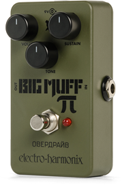 Electro-Harmonix Green Russian Big Muff distorti...