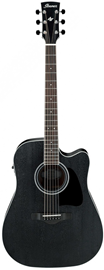 Ibanez AW84CE Weathered Black Artwood elektro-ak...