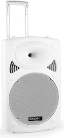Ibiza Sound PORT10UHF-BT White mobilna aktivna z...
