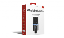 IK Multimedia iRig Mic Studio Black USB kondenza...