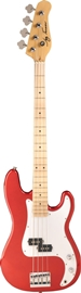 Jay Turser JTB-400M Candy Apple Red bas gitara