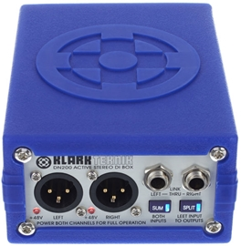 Klark Teknik DN200 aktivni stereo direct box
