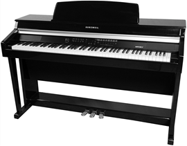 Kurzweil MP20F Satin Black Polish digitalni kućn...