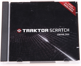 Native Instruments Traktor Scratch kontrolni CD