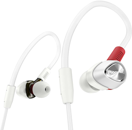 Pioneer DJE-2000 White in-ear slušalice