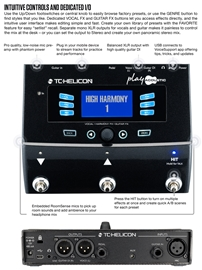 TC-Helicon Play Acoustic vokalni efekt procesor