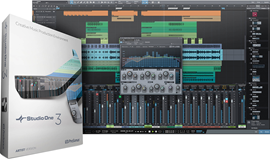 PreSonus Studio One 4 Artist DAW softver (Box)