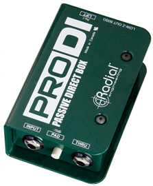 Radial ProDI-1 direct box