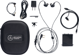 ASI AUDIO COMPLETE 3 DME SYSTEM in-ear sistem