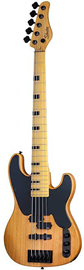 Schecter Model-T Session 5 Aged Natural Satin ba...