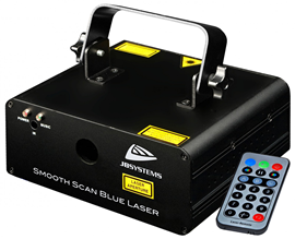 JB Systems SMOOTH SCAN-BLUE laser