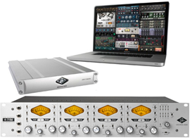 Universal Audio 4-710d + UAD-2 Satellite QUAD Co...