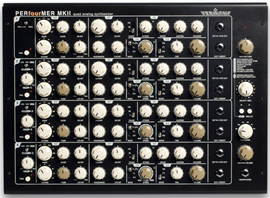 Vermona PERfourMER MKII synthesizer