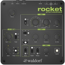 Waldorf Rocket Desktop analogni synthesizer