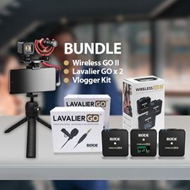 RODE Wireless Go II Vlogger Kit Android USB-C bu...