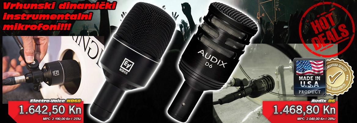 Možete li spojiti mikrofon na prijamnik