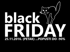 BLACK FRIDAY: Popusti do 90%