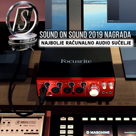 Sound on Sound Award 2019  za Best in class